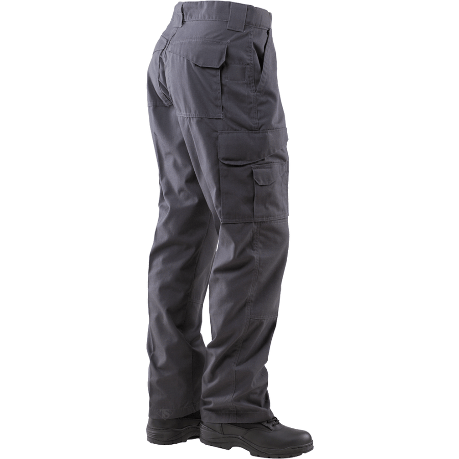 TRU-SPEC 24-7 Mens Tactical Pants 65/35 Polyester/Cotton Rip-Stop Charcoal Grey - OPSGEAR