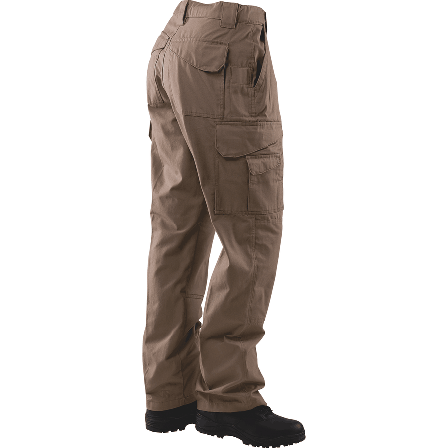 TRU-SPEC 24-7 Mens Tactical Pants 65/35 Polyester/Cotton Rip-Stop Coyote - OPSGEAR