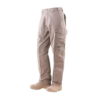 TRU-SPEC 24-7 Mens Tactical Pants 65/35 Polyester/Cotton Rip-Stop Khaki - OPSGEAR