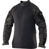 TRU-SPEC Tactical Response Uniform (TRU) 1/4 Zip Combat Shirt - Multicam® Black - OPSGEAR