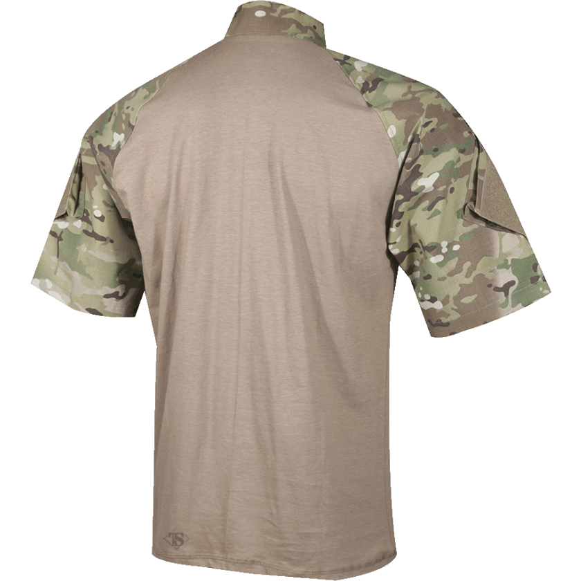 TRU-SPEC Tactical Response Uniform (TRU) 1/4 Zip Combat Shirt - Short Sleeve - OPSGEAR
