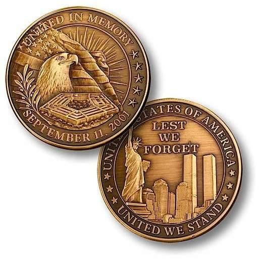 United in Memory - Bronze Antique Coin - OPSGEAR