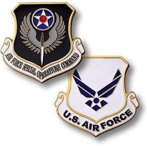 U.S. Air Force - Special Operations Command Coin - OPSGEAR