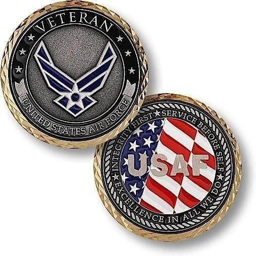 U.S. Air Force - Veteran Coin - OPSGEAR