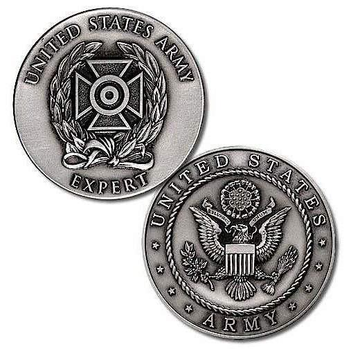 U.S. Army Expert Badge Challenge Coin - OPSGEAR
