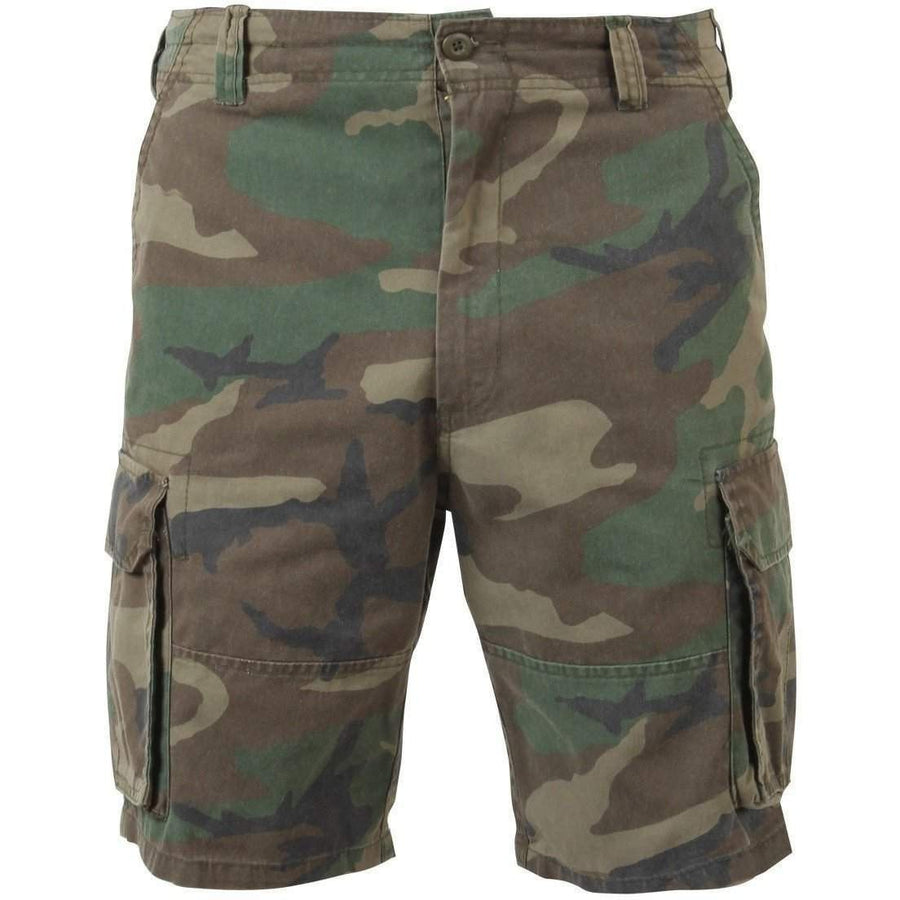 Vintage Camo Paratrooper Cargo Shorts - Rothco - OPSGEAR