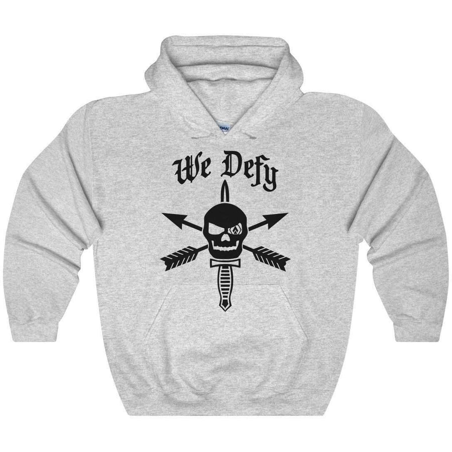 We Defy Heavy Blend Hooded Sweatshirt - OPSGEAR