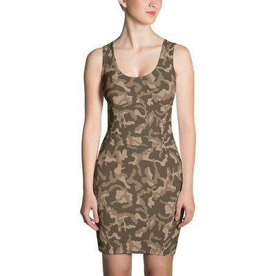 Women's Russian Woodland Brown CAMO Dress - OPSGEAR