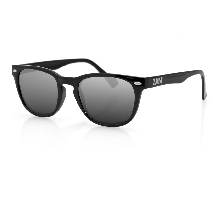 ZAN Throwback NVS Sunglasses Glossy Black Frame - OPSGEAR