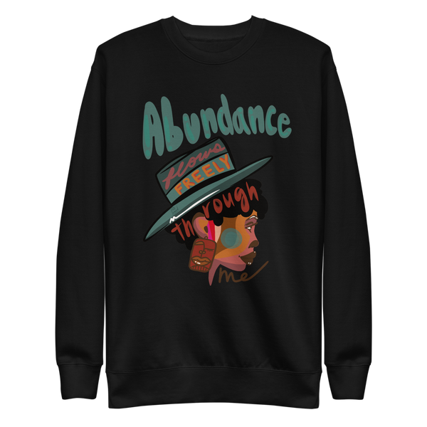 Abundance Flows Freely Fleece Pullover