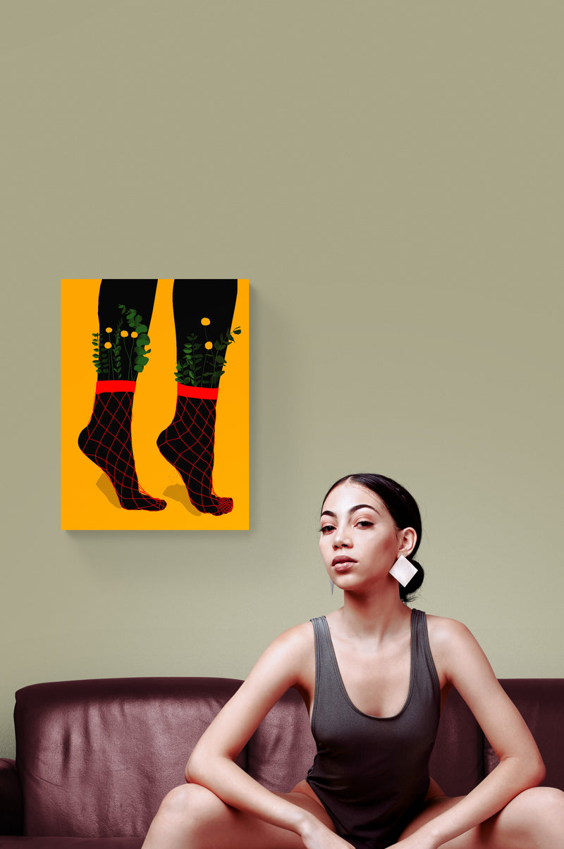 Dancing Feet Wall Art