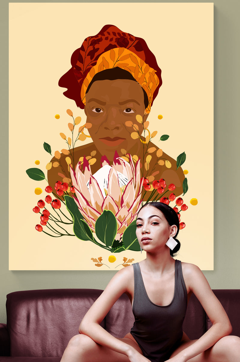 Maya Angelou Wall Art