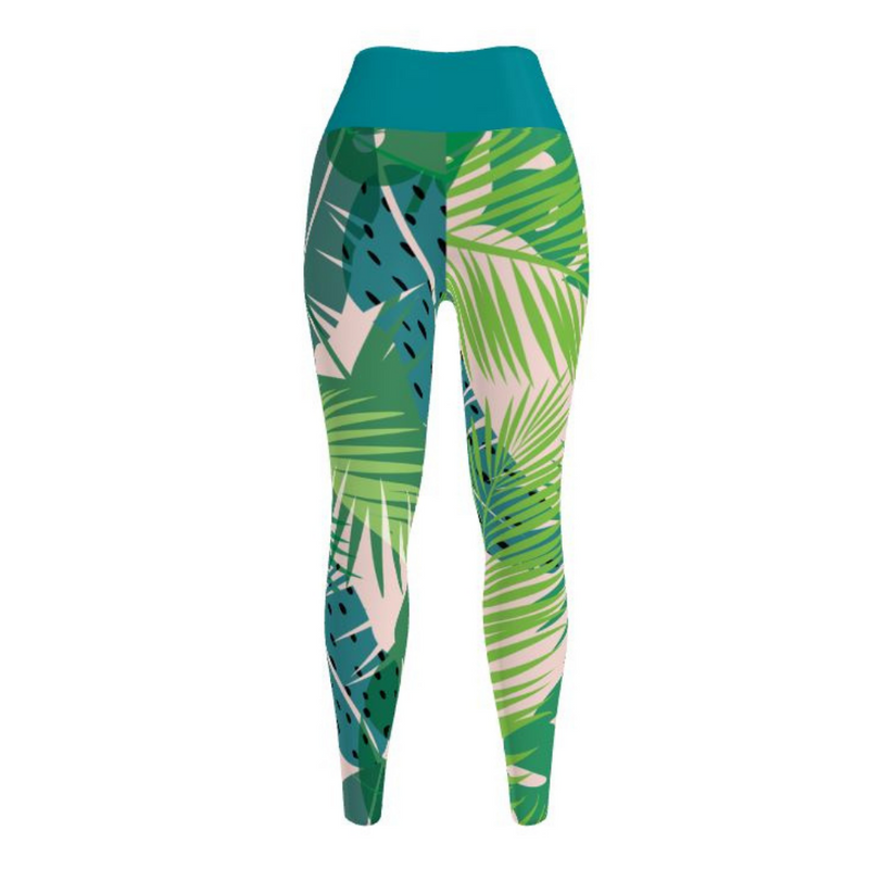 Polyanthus Yoga Leggings