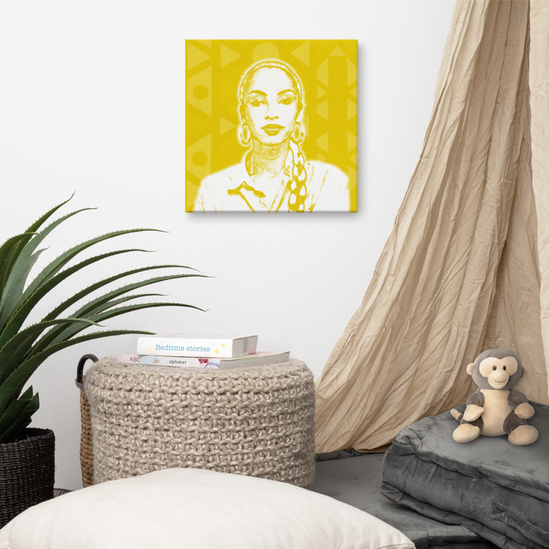 Sade Wall Canvas