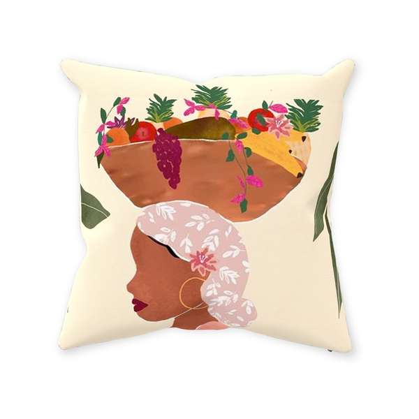 Fruits and Flowers Pillow