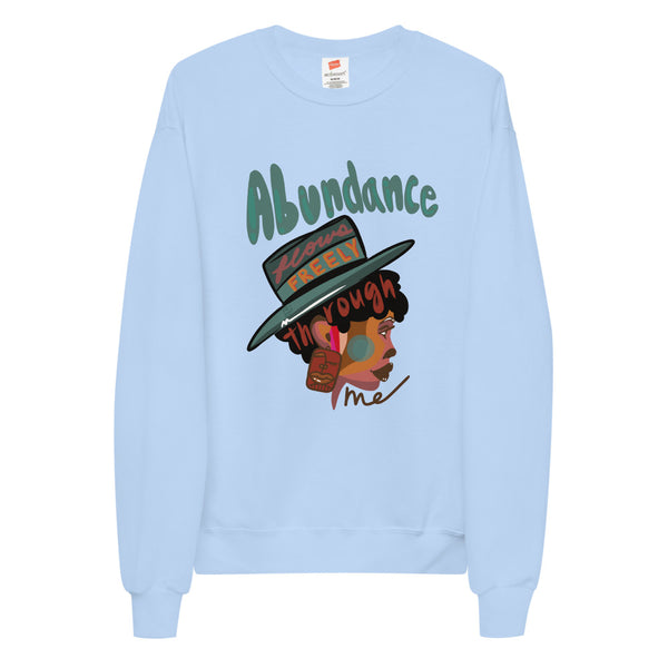 Abundance Flows Freely Fleece Sweatshirt