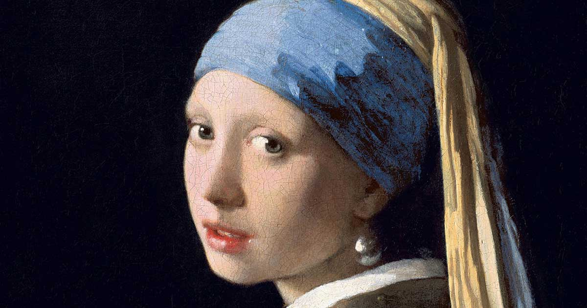 Girl with a pearl - History of pearls