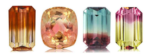 Tourmaline is too soft to be used for engagement rings