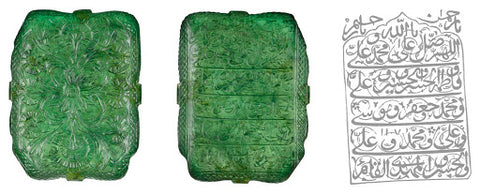 emeralds have a long history of use from multiple regions