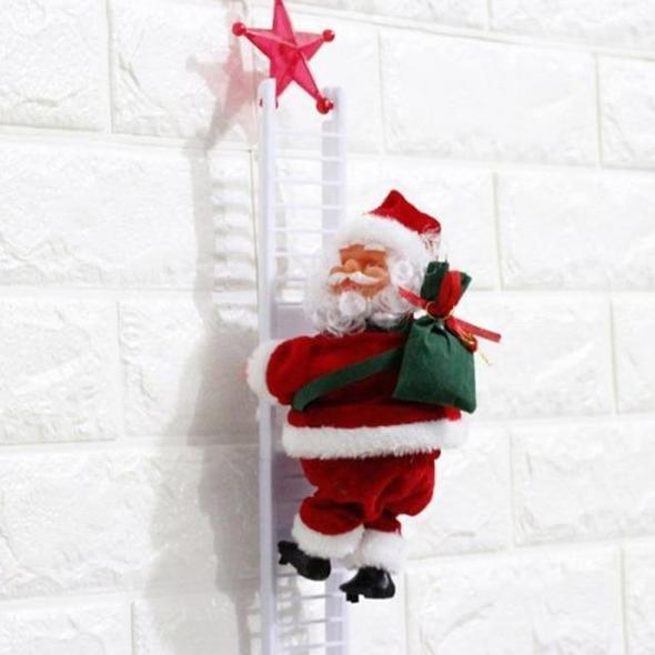 Limited Edition Electric Climbing Santa Early Christmas Sale!