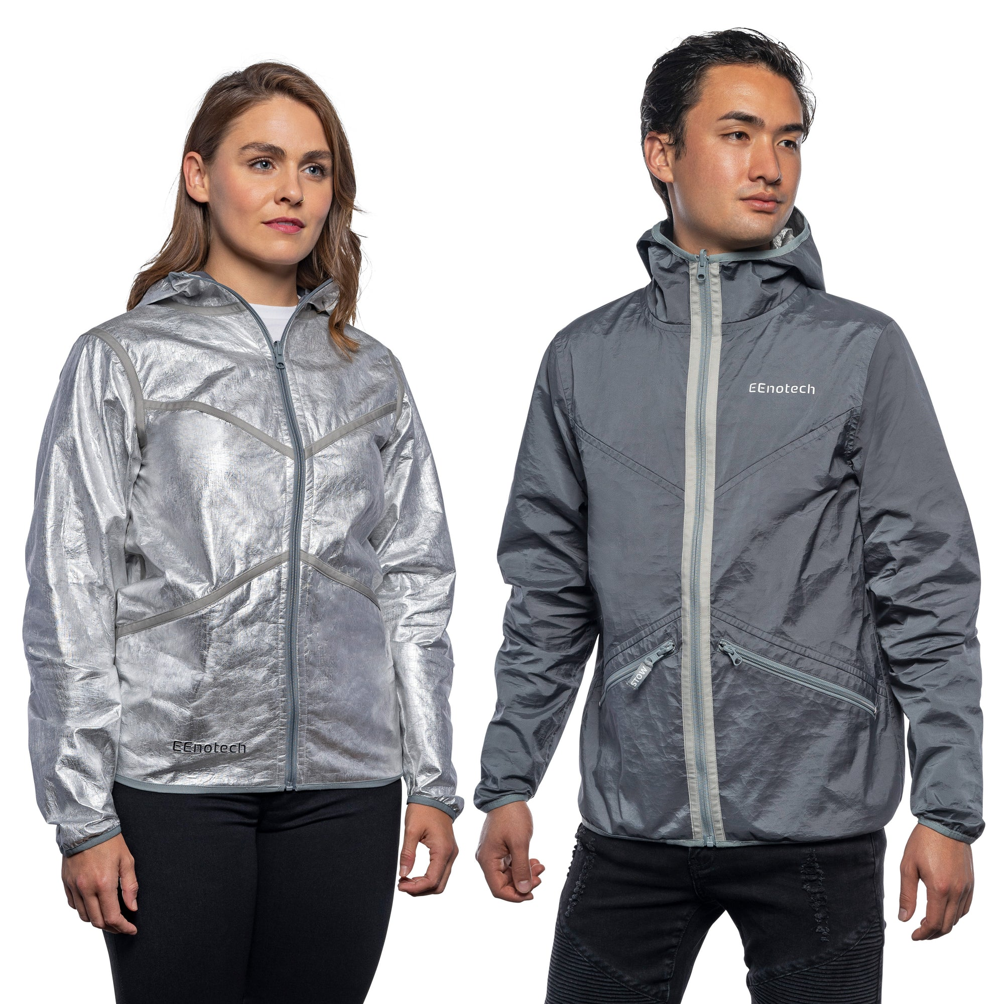 50°F (10°C) Super Thin Unisex Reversible Jacket
