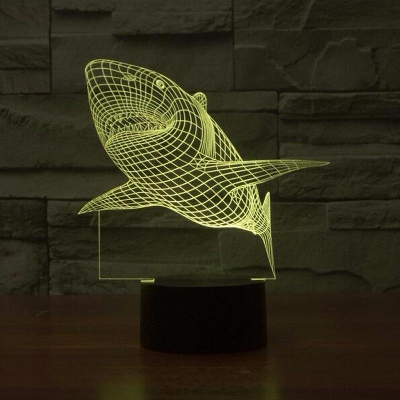 Shark Hologram Light - TEROF