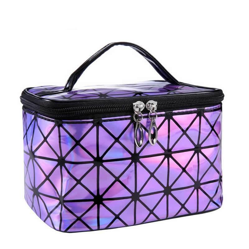 Shiny Cosmetic Glam Bag - TEROF