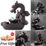 Crystal Dragon Incense Burner - TEROF