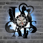Decorative LED Cat Clock - TEROF