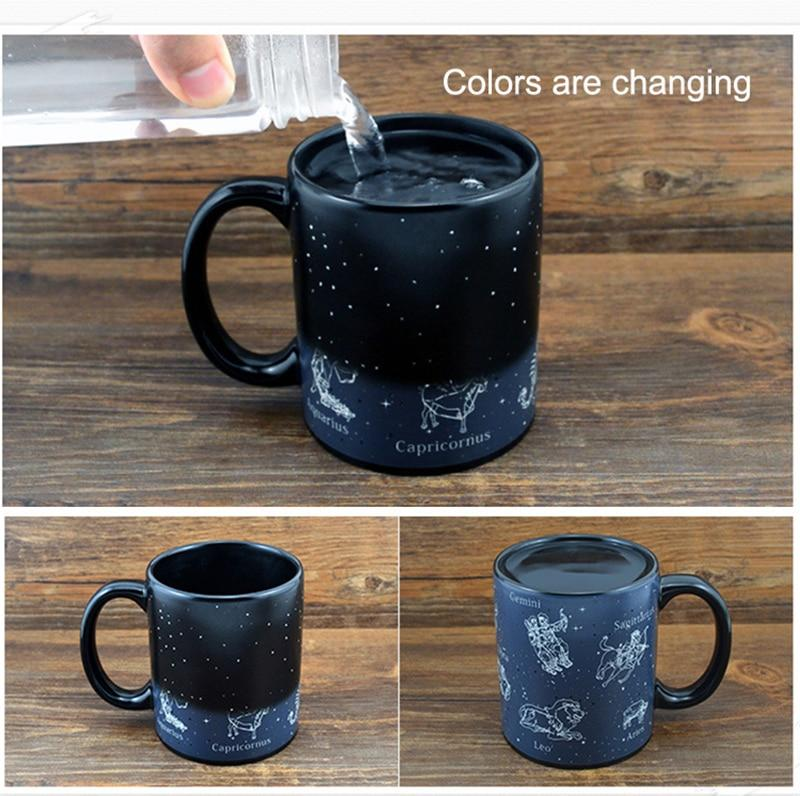 Hidden Constellations Zodiac Mug - TEROF