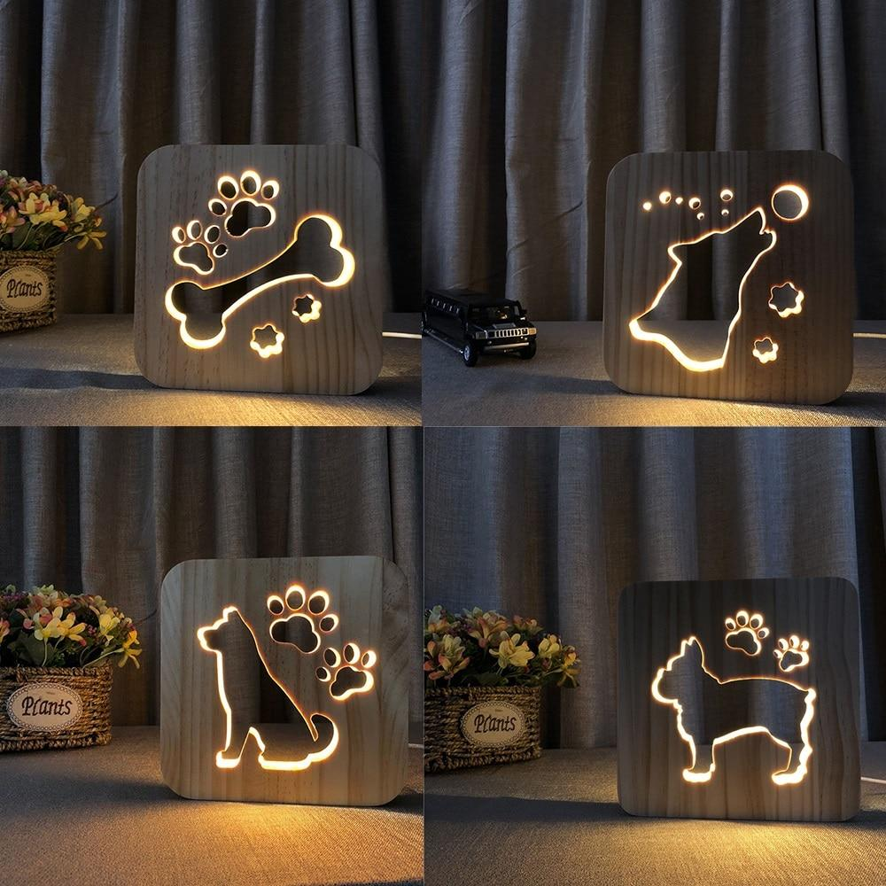 Animal Paw Print Night Light - TEROF