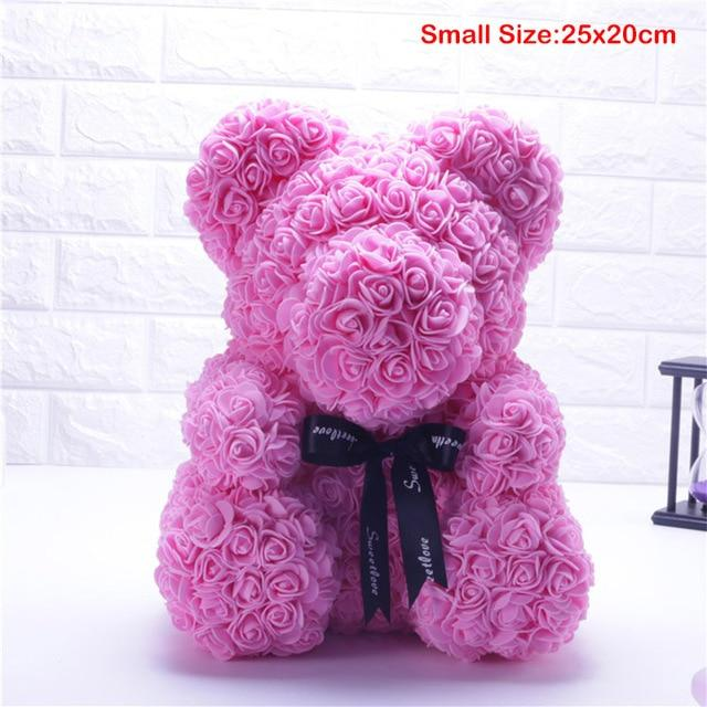 Rose-Covered Teddy Bear - TEROF