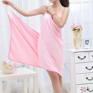 Soft Microfiber Towel Dress - TEROF