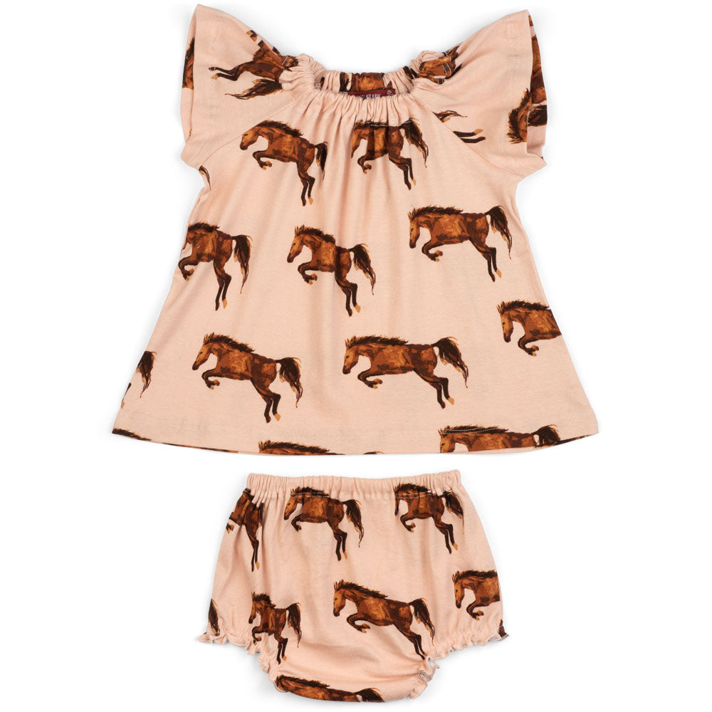 Dress & Bloomer Set Horse