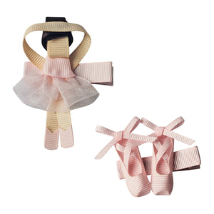 BALLERINA AND SHOES –  POWDER PINK