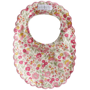 Scallop Bib Rose Garden