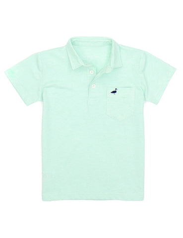 Harrison Pocket Polo Seafoam