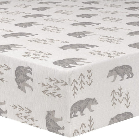 Cubby (Gray/Taupe) Crib Sheet