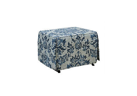 Rory Long Skirted Ottoman (Teeny Bopp)