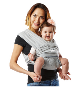 Baby K'Tan Baby Carrier Original Heather Grey