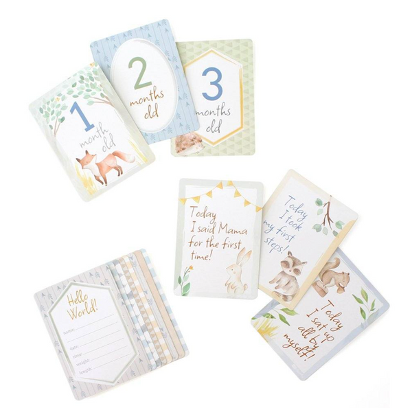 Double Sided Milestone Cards