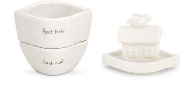 Noah's Ark First Tooth & Curl Box