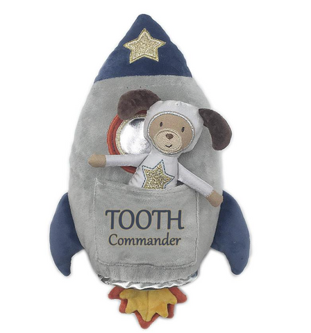Spaceship Tooth Commander Pillow and Doll