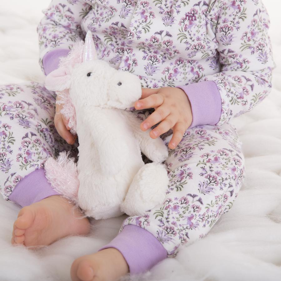 Unicorn Dreams Organic Cotton Magnetic Coverall