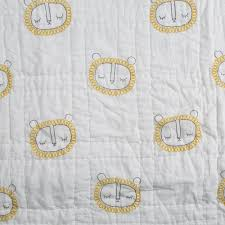 Lion Crib Sheet - Yellow