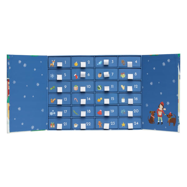 MILLEDEUX® ADVENT CALENDAR – 24 GIFTS – SILVER VERSION