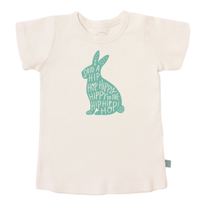 Toddler Graphic Tee- Hippy Hoppy