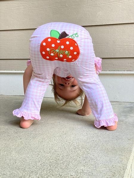 Pumpkin PJ Girl Two Piece