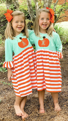 Pumpkin Knit Dress