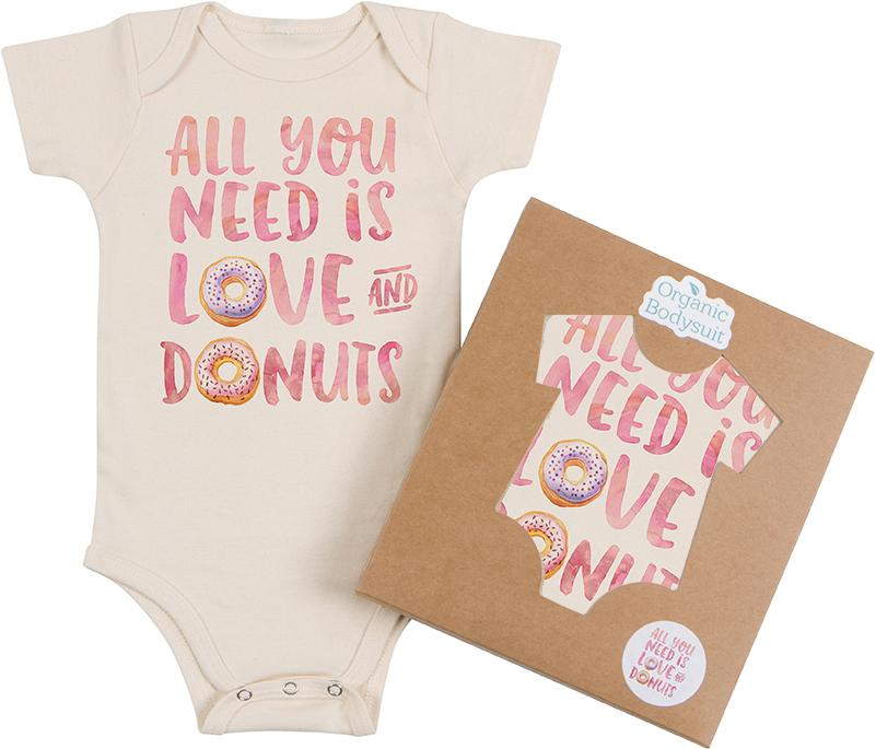 Love and Donuts Bodysuit